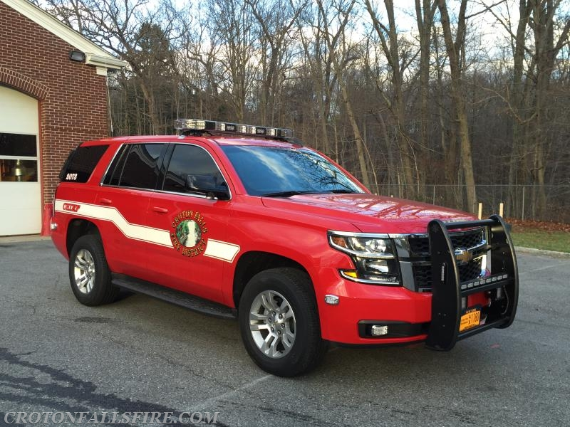 Croton Falls Fire Department Takes Delivery Of New Chiefs
