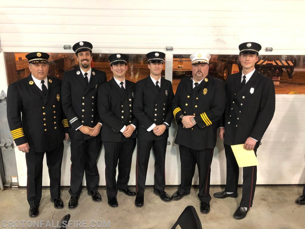 CFFD officers attended the graduation ceremony.