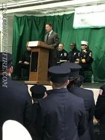 County Executive Rob Astorino addresses the crowd
